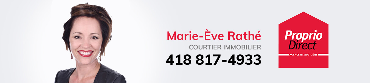 Marie-Eve Rathé, courtier immobilier